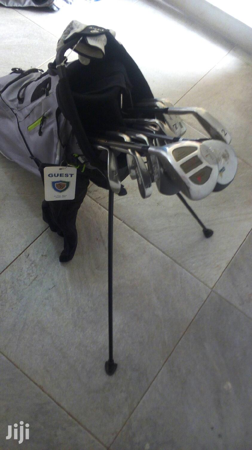Archive: Golf Bag and Sticks
