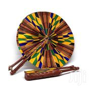 Fabric And Leather Hand Fans   Arts & Crafts for sale in Greater Accra, Kotobabi
