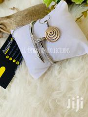 Nail Bangle Plus Spiral Necklace | Jewelry for sale in Greater Accra, Accra Metropolitan
