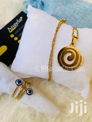 Gold Spiral Chain With Ring | Jewelry for sale in Greater Accra, Accra Metropolitan