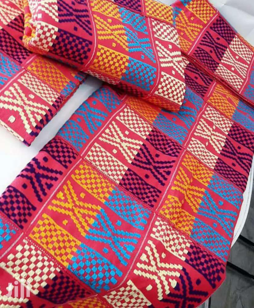 Latest And Affordable Bonwire Kente Cloth New Set