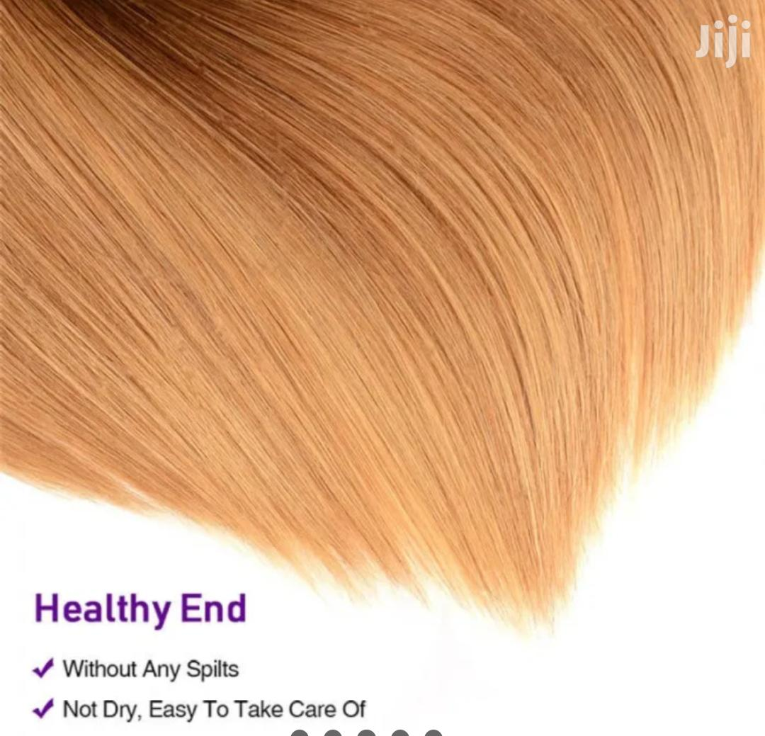 "100% Raw Indian Ombre Hair 24"" Wigcap 