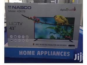 Brand New Nasco 43′′ Digital Satellite Fhd LED TV | TV & DVD Equipment for sale in Greater Accra, Adabraka