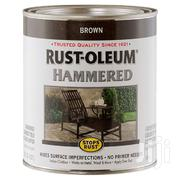 Hammered Brush-On Paint Rust Preventive | Building Materials for sale in Greater Accra, North Kaneshie