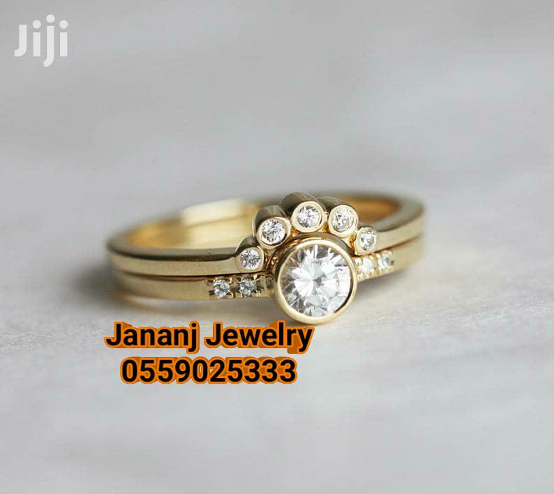 3set Wedding Ring 14k