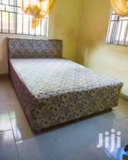 Double Bed Together With Mattress   Furniture for sale in Greater Accra, Achimota