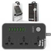 Ldnio 6 Usb Auto Max 3 Power Socket | Accessories for Mobile Phones & Tablets for sale in Greater Accra, Ga East Municipal