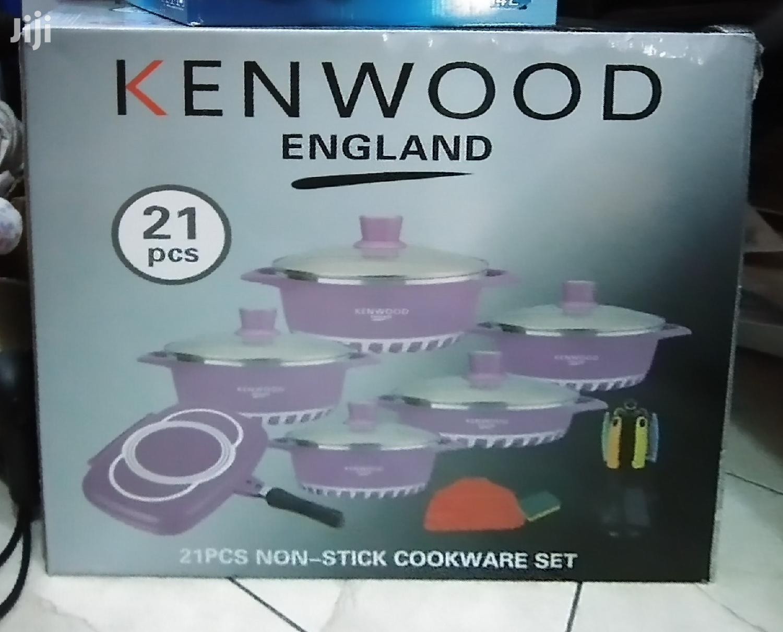 Kenwood 21pcs. Cookware Set.