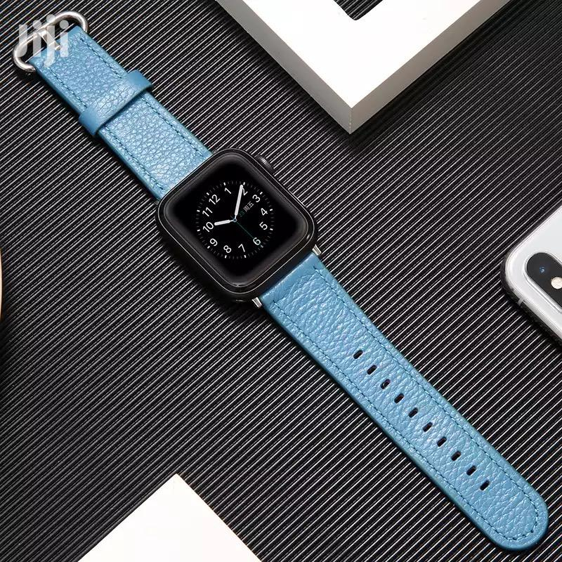 Horween Leather Strap Band for Apple Watch Series 1 2 3 4 5   Smart Watches & Trackers for sale in Kanda Estate, Greater Accra, Ghana