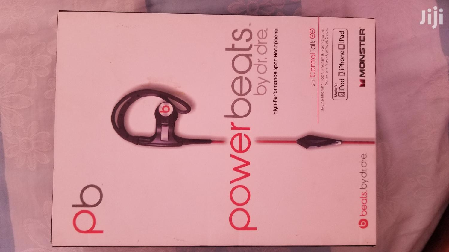 Original Dr Dre Power Beat Earpiece From USA | Headphones for sale in Accra Metropolitan, Greater Accra, Ghana