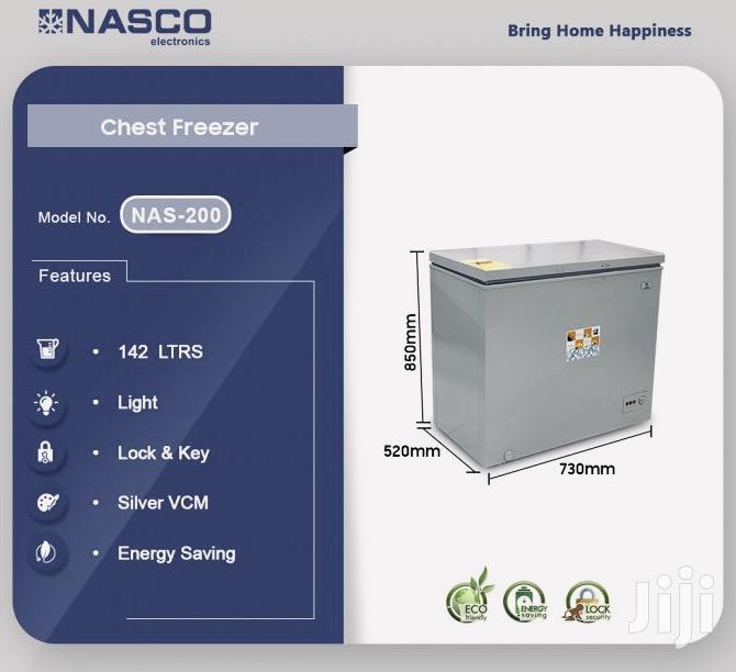 Nasco 142ltr Chest Freezer Nas-200😎