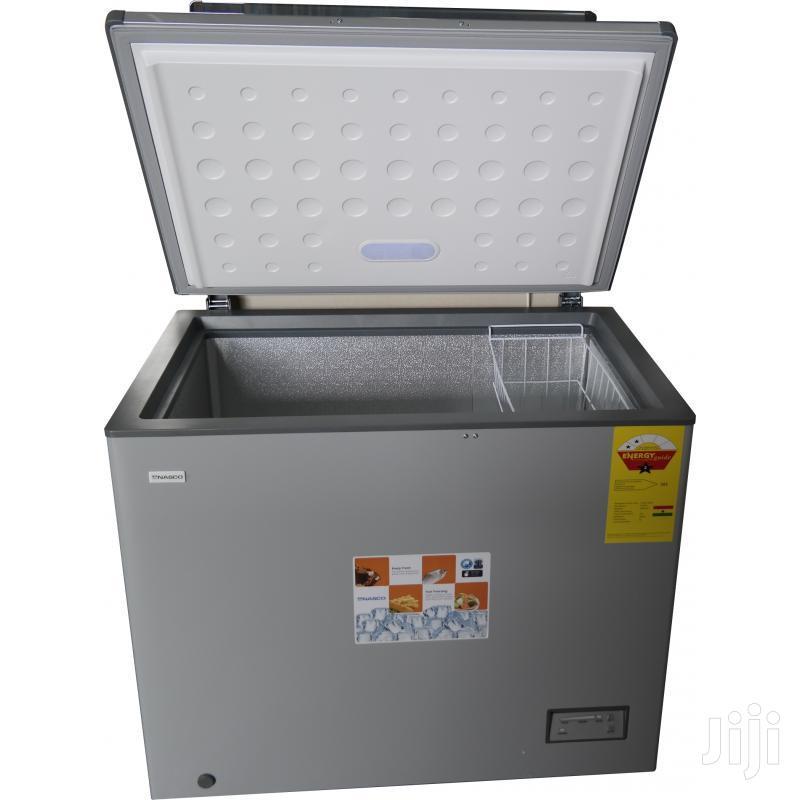 Nasco Nas-210 200ltr Chest Freezer(Silver)