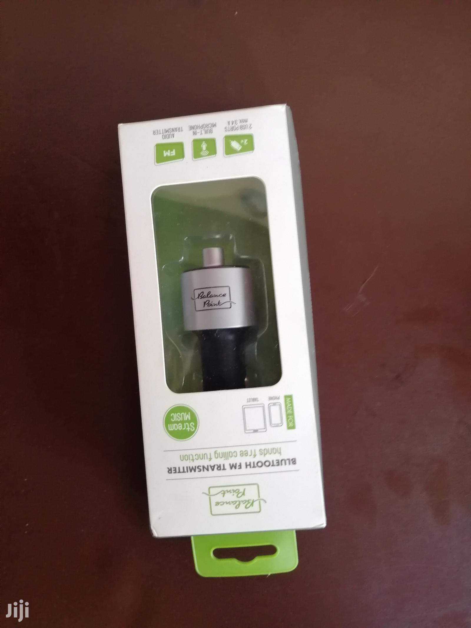 Bluetooth FM Transmitter Plus Free HP0-0053-RD Bluetooth