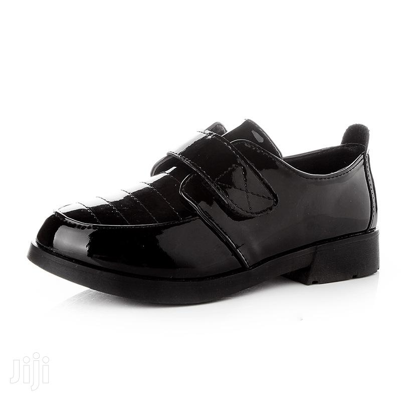 Children Quality Mirror Shoes