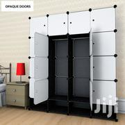 16 Cubes Plastic Wardrobe - Grey | Furniture for sale in Greater Accra, Teshie-Nungua Estates