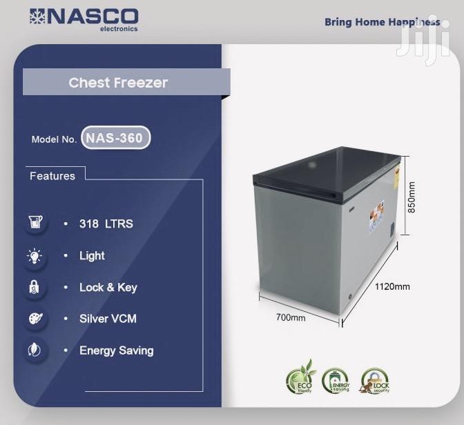 *Nasco 320 Ltrs Chest Freezer (NAS-360)*