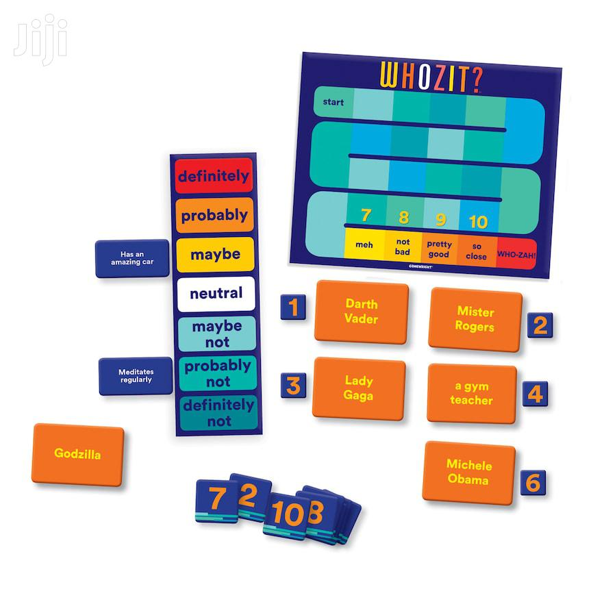 Archive: Whozit? Game By Ceaco