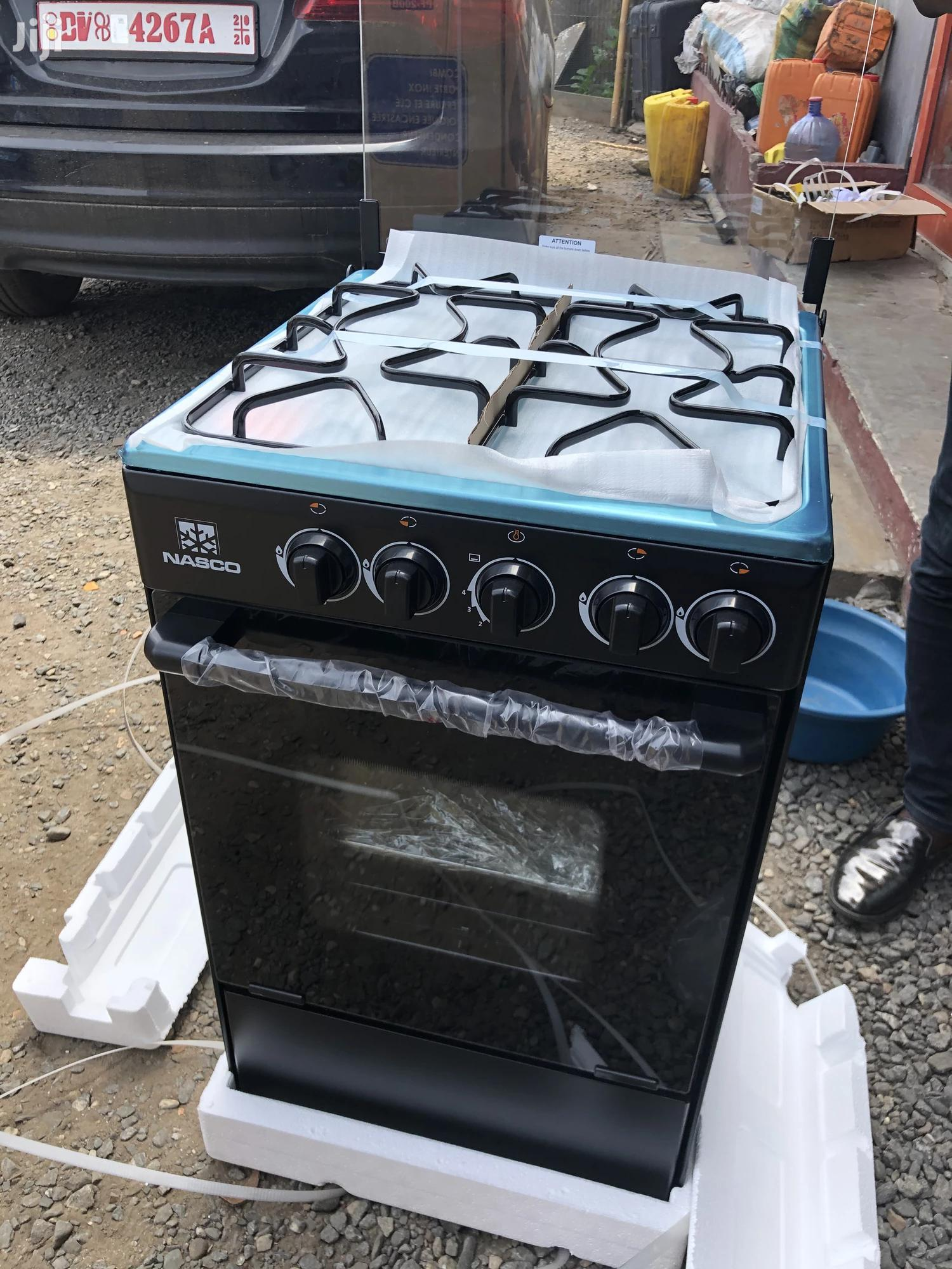 Nasco 4 Burner Gas Cooker With Oven