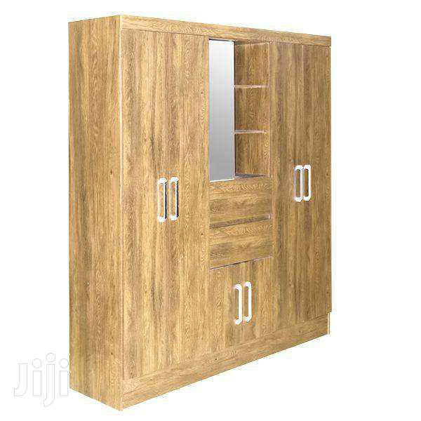 WARDROBE 6 DOORS CAPELA NOGAL TOUCH | Furniture for sale in Adenta Municipal, Greater Accra, Ghana