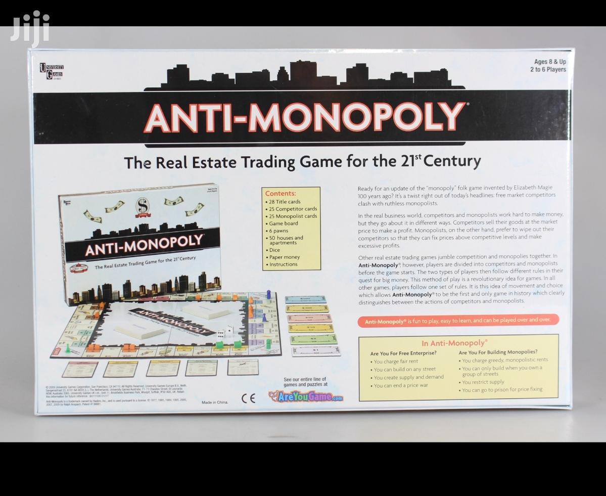 Archive: Anti-monopoly