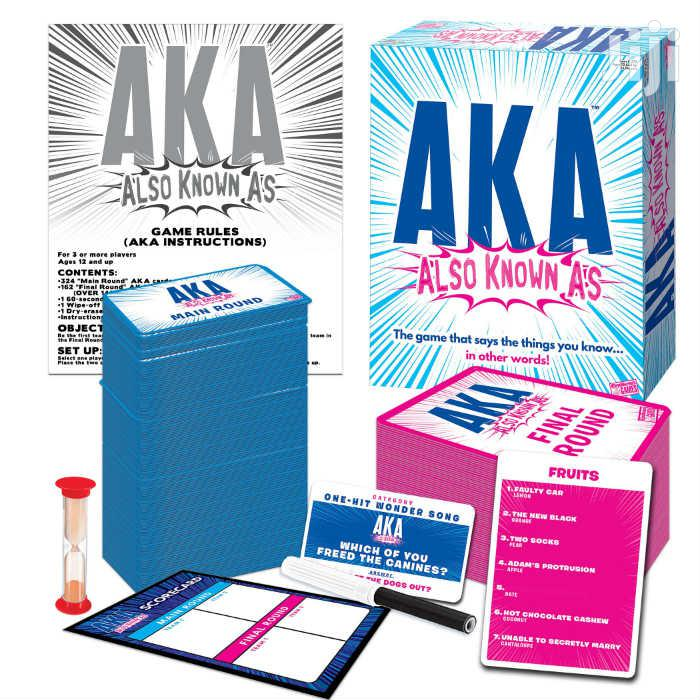 Archive: AKA (Also Known As) Game