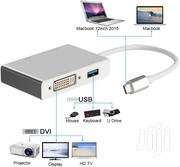 Type C Dock 4N1, Usb,Hdmi,Dvi,Vga   Computer Accessories  for sale in Greater Accra, Adabraka