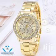 Geneva Stainless Steel Watch - Gold | Watches for sale in Greater Accra, Accra Metropolitan