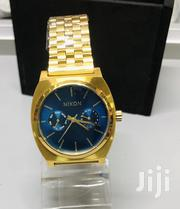 Nixon Time Teller Deluxe Gold and Blue Face | Watches for sale in Greater Accra, East Legon