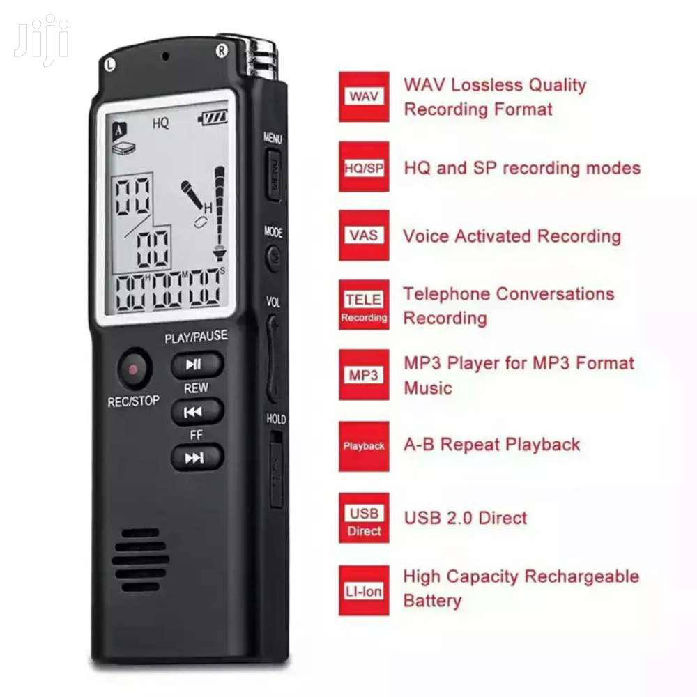 Digital Voice Recorder - 16gb | Audio & Music Equipment for sale in New Mamprobi, Greater Accra, Ghana