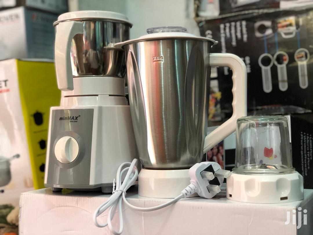 Minmax 3in1 Silver Blender
