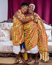 Yellow Beautiful Kente Ntoma | Clothing for sale in Greater Accra, Achimota