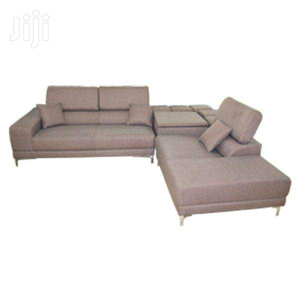 SOFA L SHAPED WITH CHAISE | Furniture for sale in Adenta Municipal, Greater Accra, Ghana