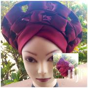 2in 1 Gele Turban | Clothing Accessories for sale in Greater Accra, Accra Metropolitan
