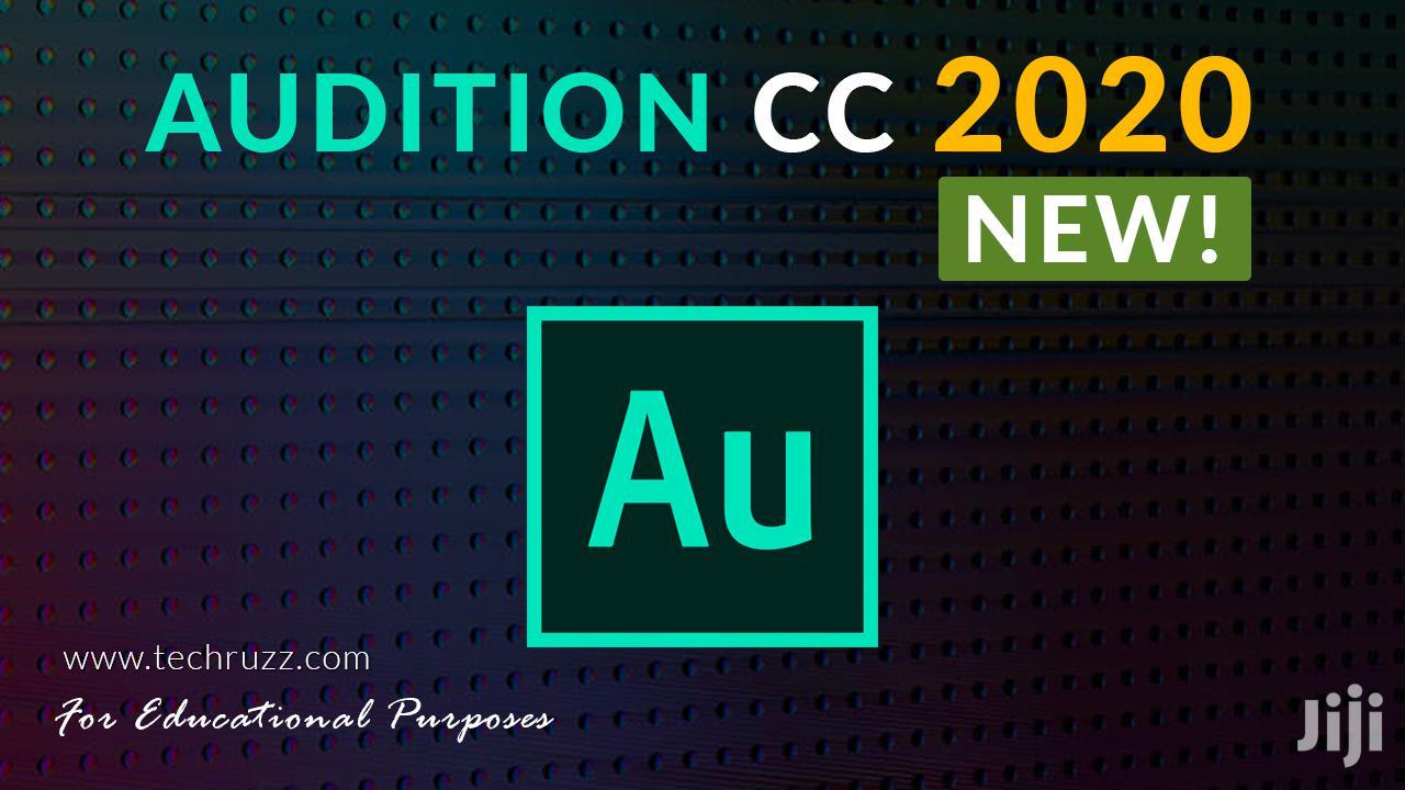 Archive: Adobe Audition CC 2020 (WIN/MAC)