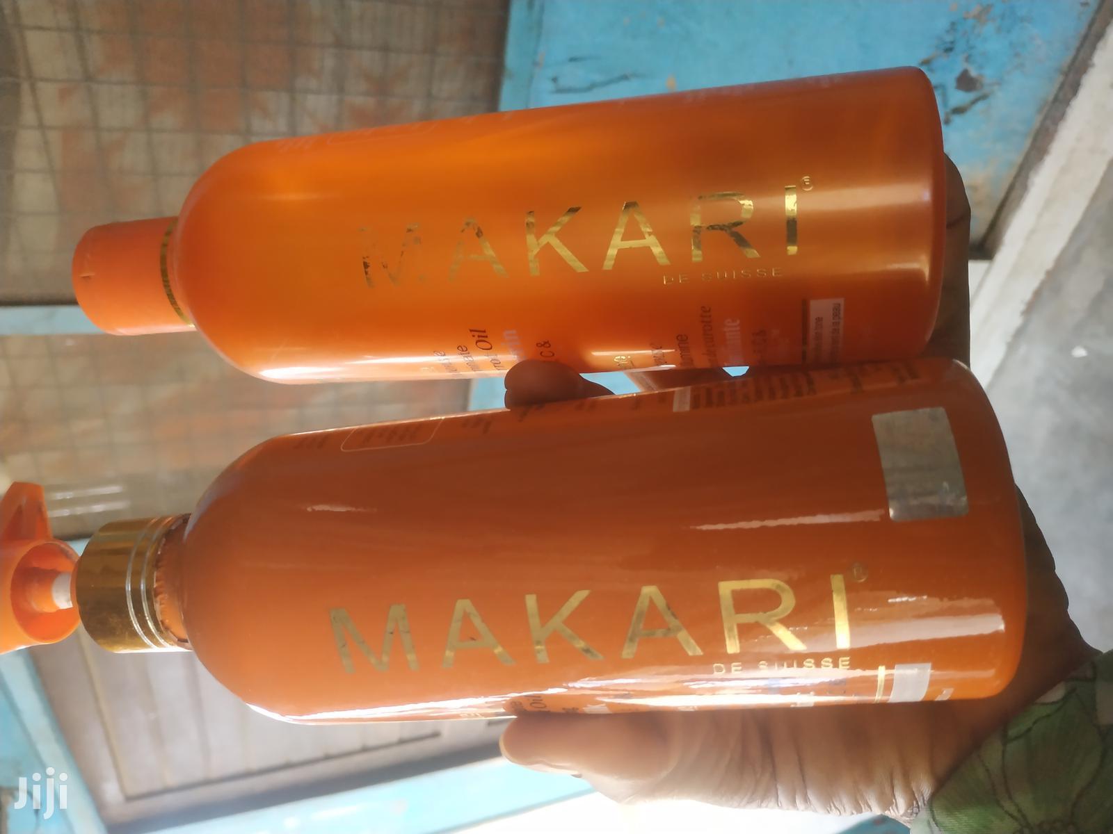 Archive: Makari Argan and Carrot Oil Toning Milk