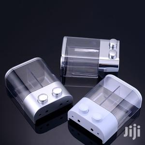Manual Dispensers (2 In 1 - Hand Soap And Sanitizer)