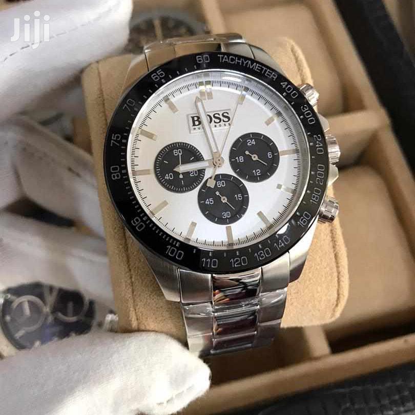 Archive: Silver Boss Watch
