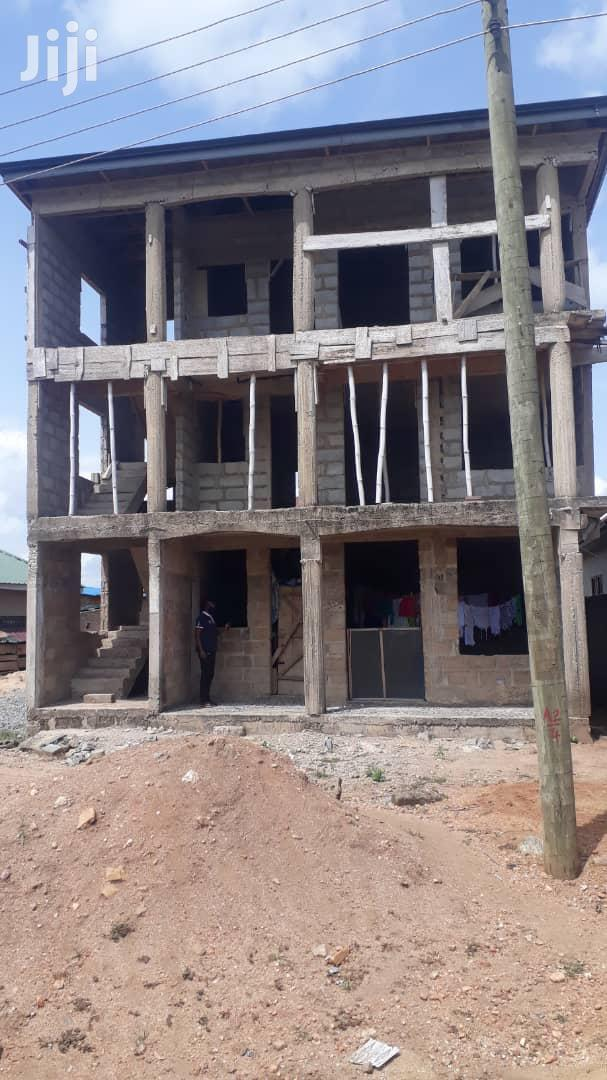 Chamber And Hall Self Contain Apartment Uncompleted For Sale At Dobro