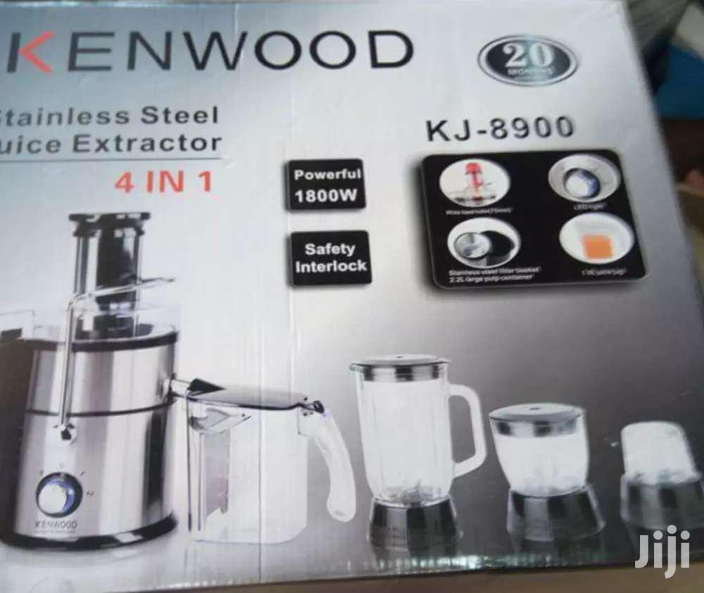 Kenwood 4 In 1 Juice Extractor With Blender