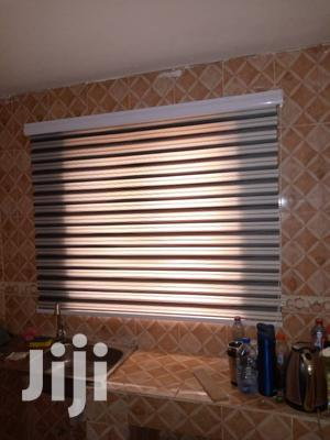 Black and White Stripes Curtains Blinds