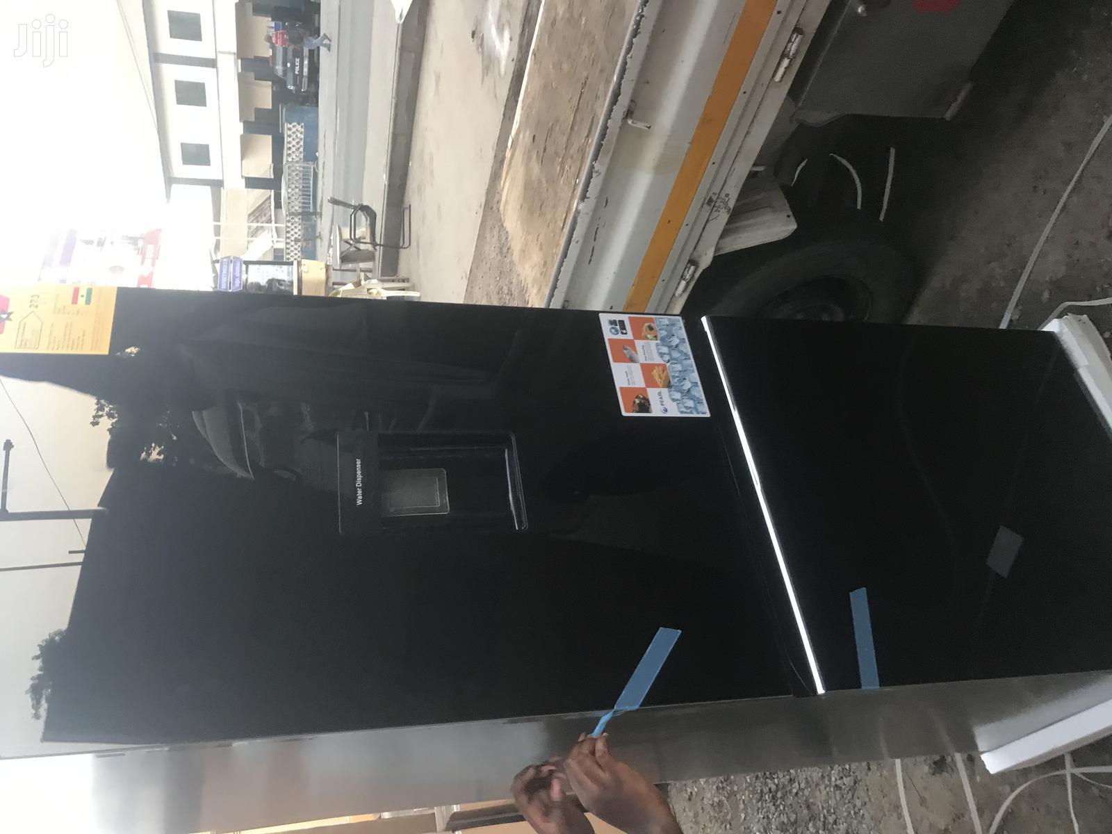Water Dispenser Pearl 309L Bottom Freezer Refrigerator(Black)PF-400bg   Kitchen Appliances for sale in Adabraka, Greater Accra, Ghana
