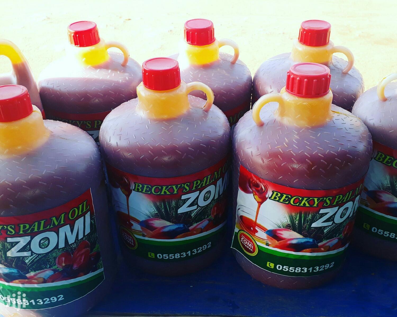 Becky's Palm Oil Original Zomi