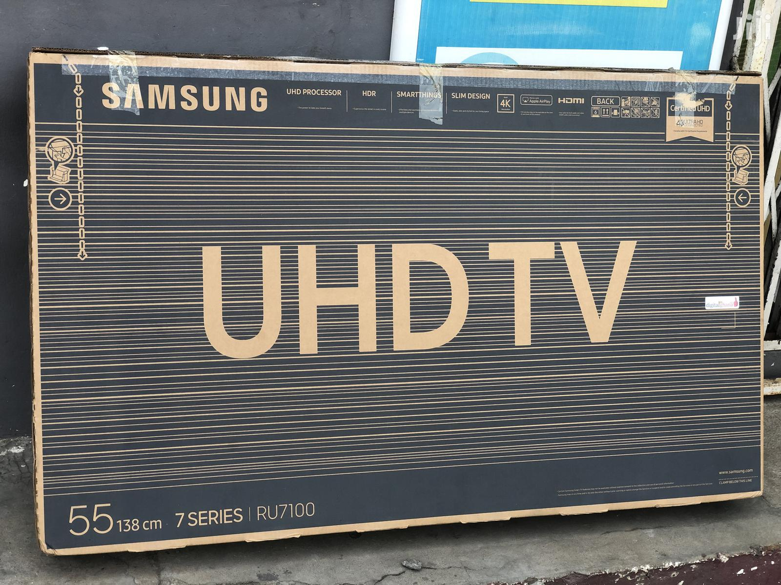 New Samsung Smart 4K Ultra HD Satellite HDR TV 55 Inches