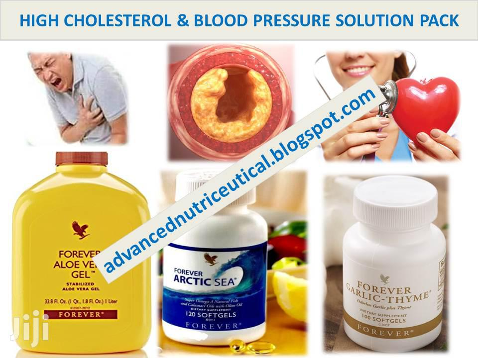 High Cholesterol & Blood Pressure Solution Pack