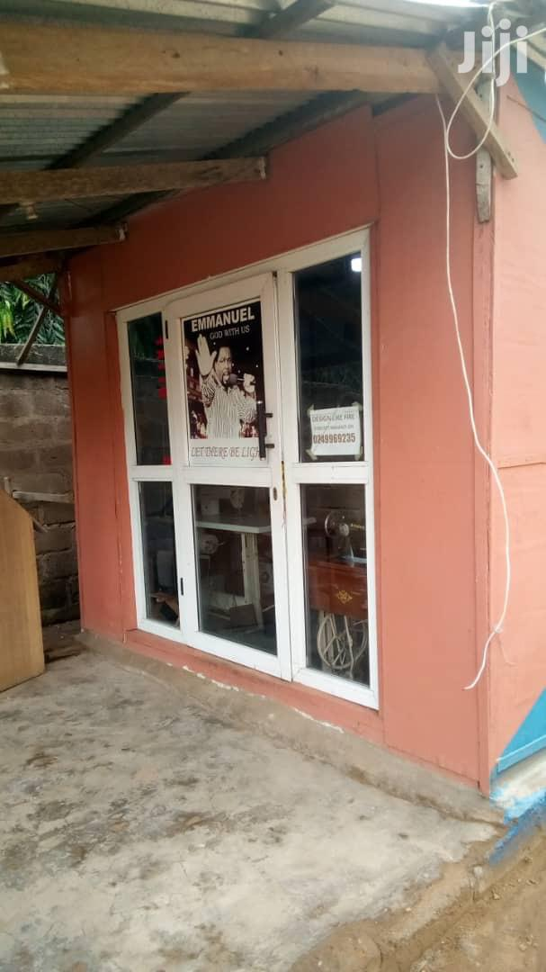 It'S A Wooden Shop Located At East Legon Lizy'S Sports