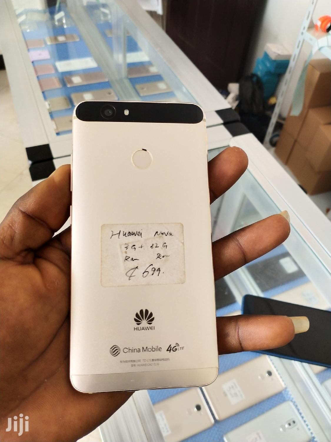 New Huawei Nova 32 GB Gold | Mobile Phones for sale in Accra Metropolitan, Greater Accra, Ghana
