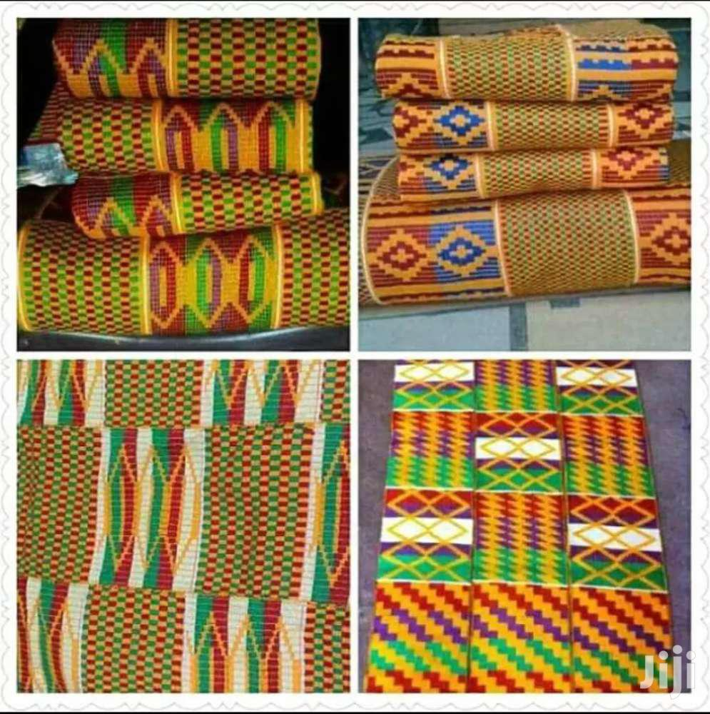 Quality Yellow Kente Sets