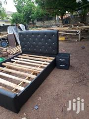 Quality Double Bed With Side Drawer | Furniture for sale in Greater Accra, Roman Ridge