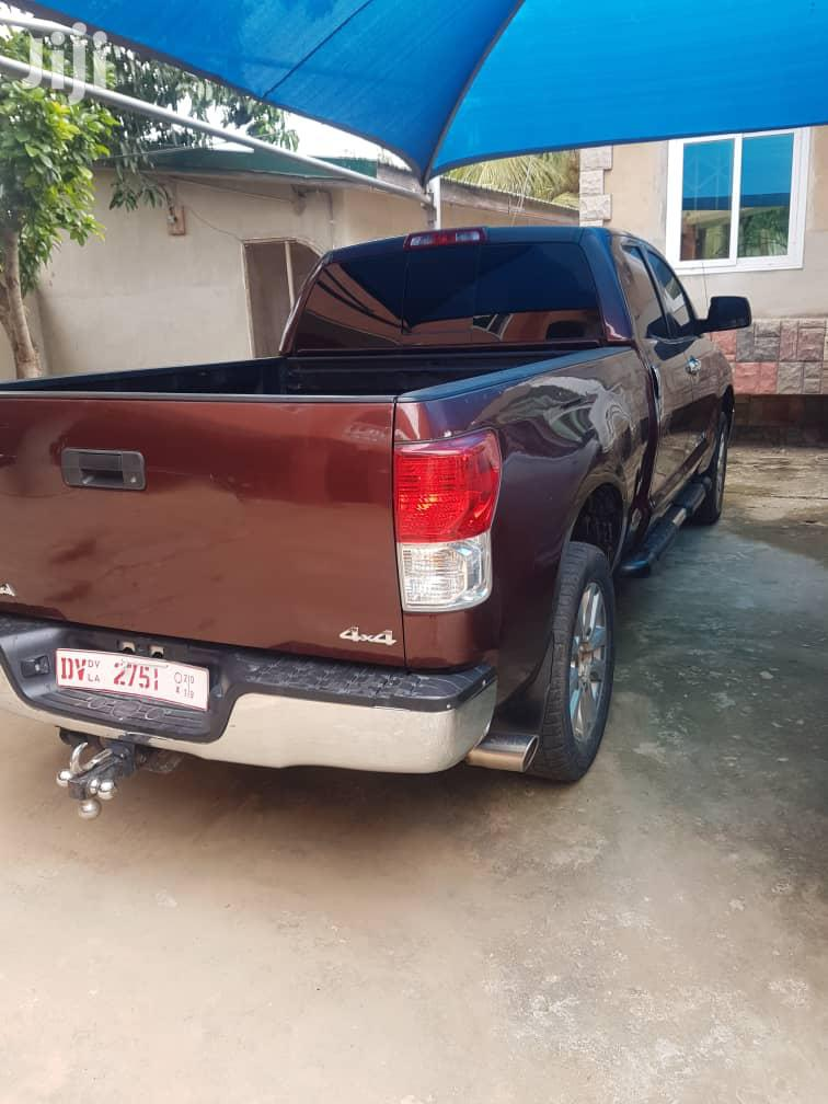 Toyota Tundra CrewMax 4x4 5.7L V8 2013 Brown | Cars for sale in Achimota, Greater Accra, Ghana