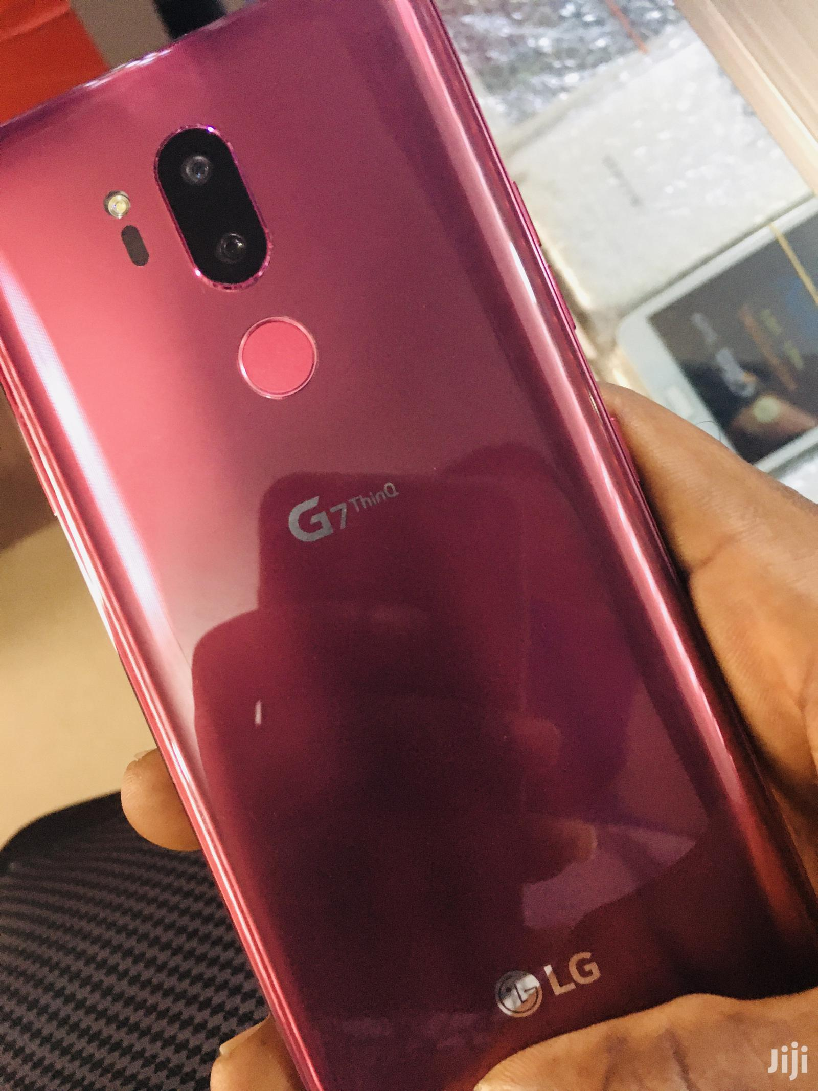 Archive: New LG G7 ThinQ 64 GB Pink